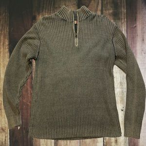 🌺 XG Xtreme Gear Distressed Ribbed 1/4 Zip